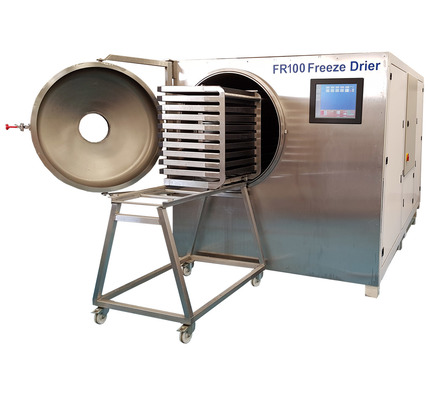 FR100 Radiant Heat Freeze  Drier and Trolley